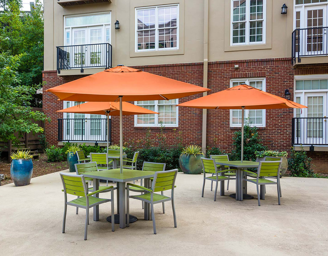 1045 On The Park - Atlanta, GA - Patio