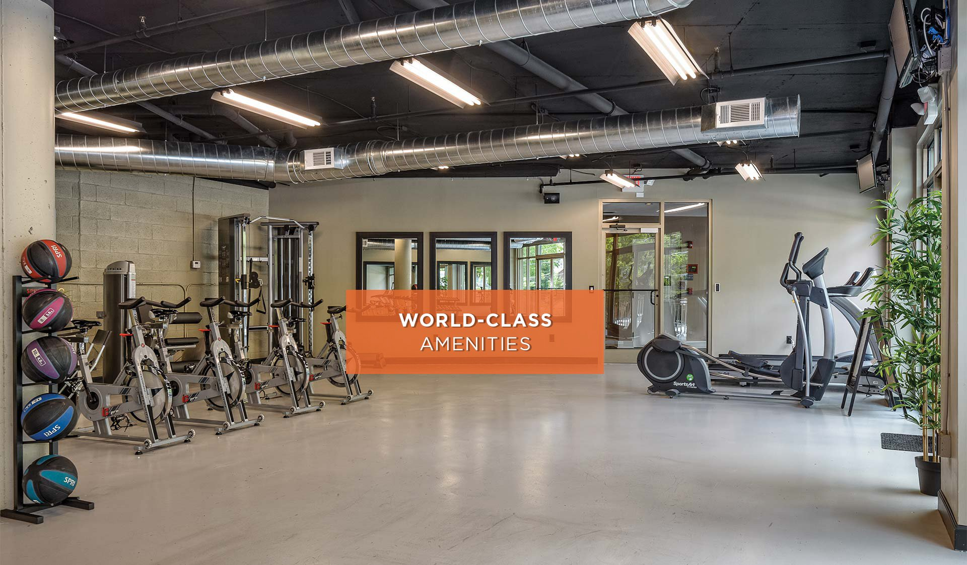 1045 on the Park - Fitness Center - Altanta, GA